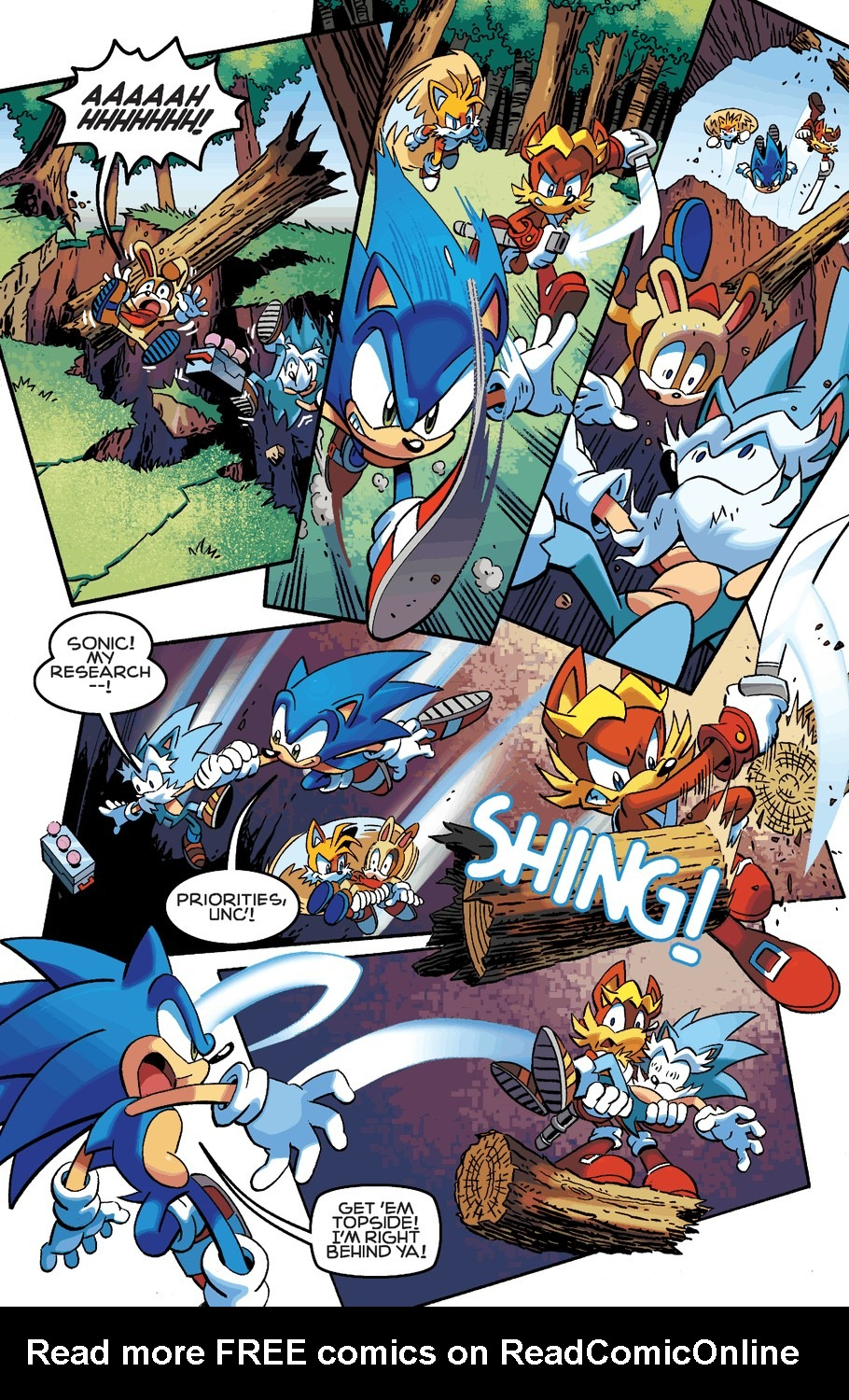 Read online Sonic The Hedgehog comic -  Issue #254 - 16