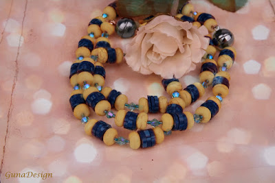 gunadesign guna andersone Yellow Turquoise Necklace and Bracelet