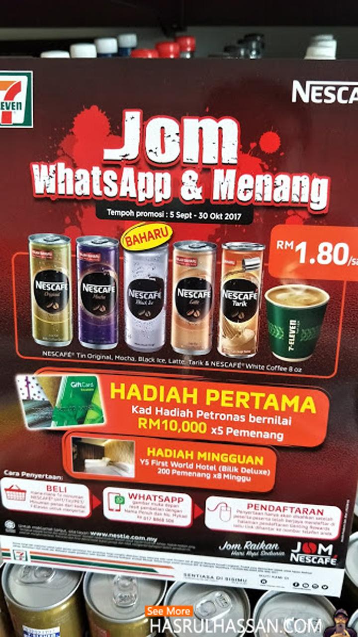 Jom WhatsApp Menang RM10,000