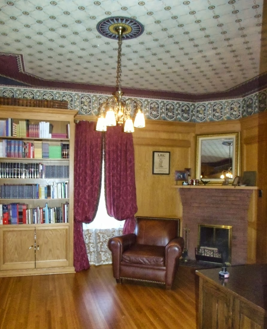 Victorian Study Room: The Dusty Victorian: Heritage Designation Approved