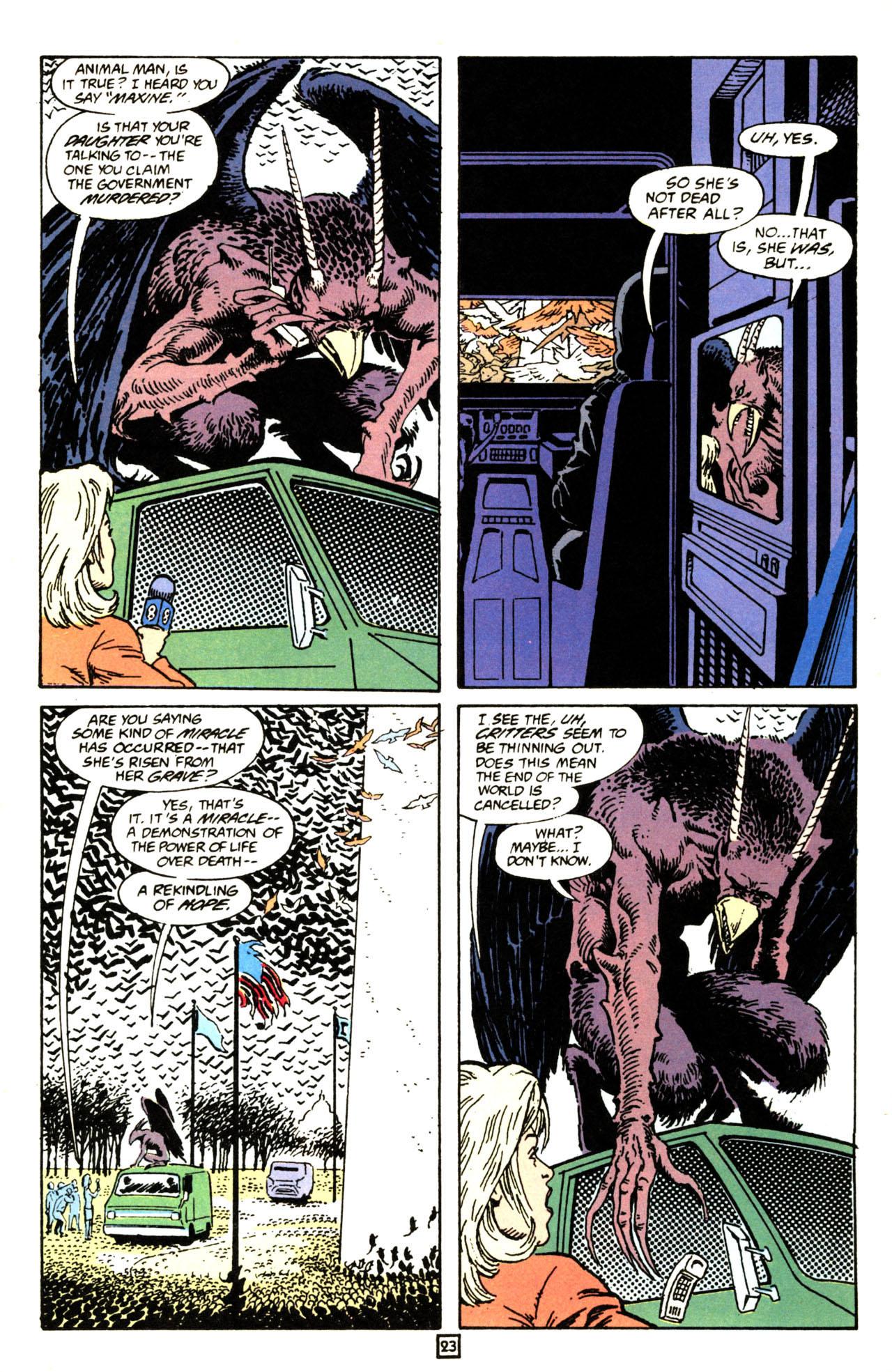 Read online Animal Man (1988) comic -  Issue #71 - 24