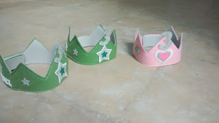 coronas cumpleaños los tres cerditos