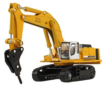 alat pemecah batu excavator
