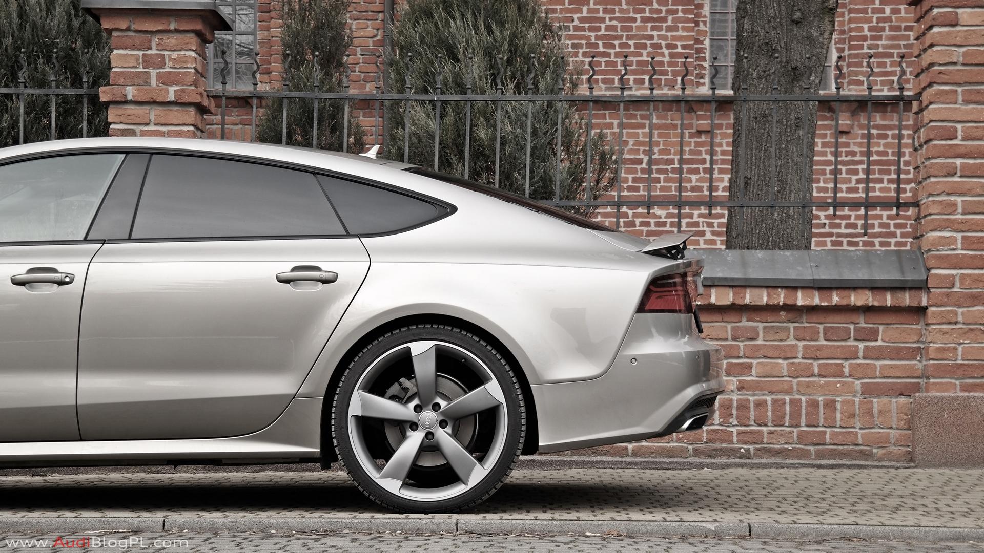 Audiblogpl Test Audi A7 Sportback