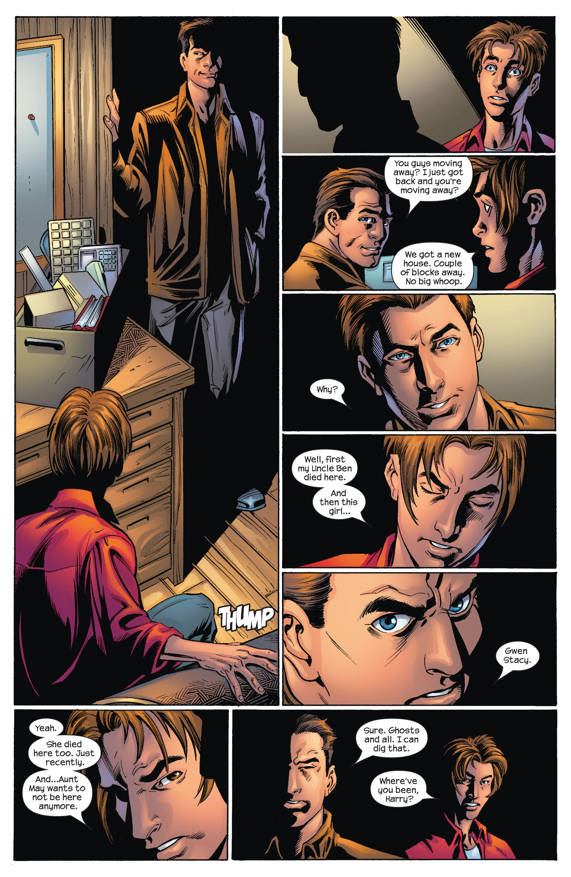 Read online Ultimate Spider-Man (2000) comic -  Issue #72 - 20
