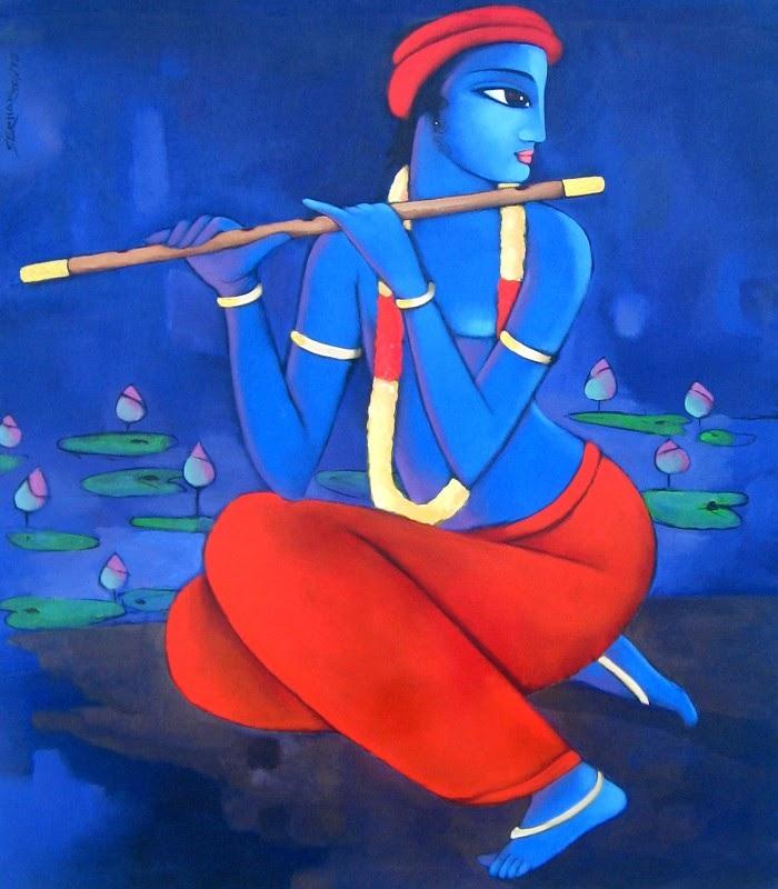 Sekhar Roy. Современный индийский художник 3