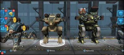 لعبة حرب الروبوتات مهكرة