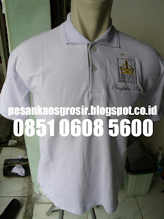 Pesan Kaos Polo Shirt Golf Bordir Murah