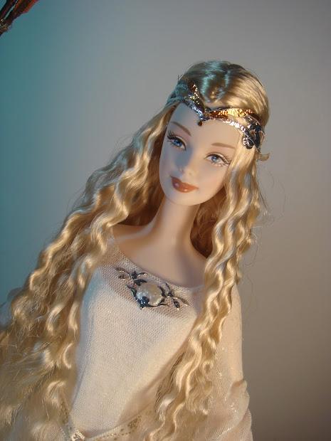 Bonecas Medievais Lord Of Rings - Galadriel Legolas
