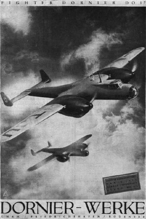 Dornier Fascist airplane ads worldwartwo.filminspector.com