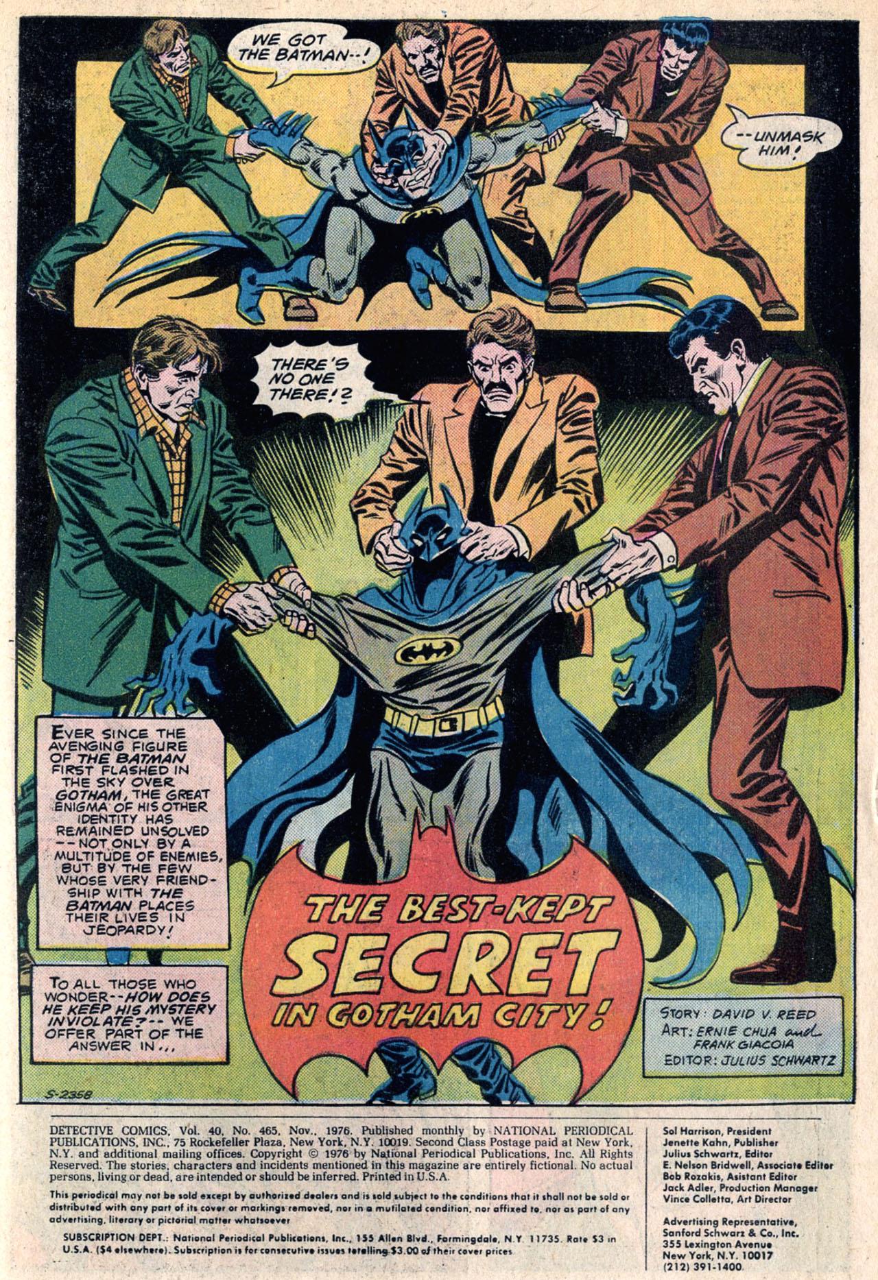 Detective Comics (1937) 465 Page 2