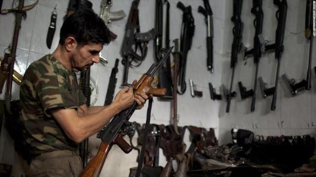 """""""Las pistolas que más le gustan a Daesh provienen de España"""""""