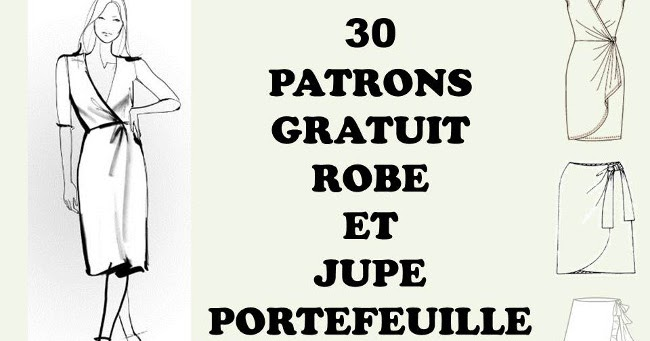 coudre une jupe ou robe portefeuille avec 30 patrons gratuits bettinael passion couture made in