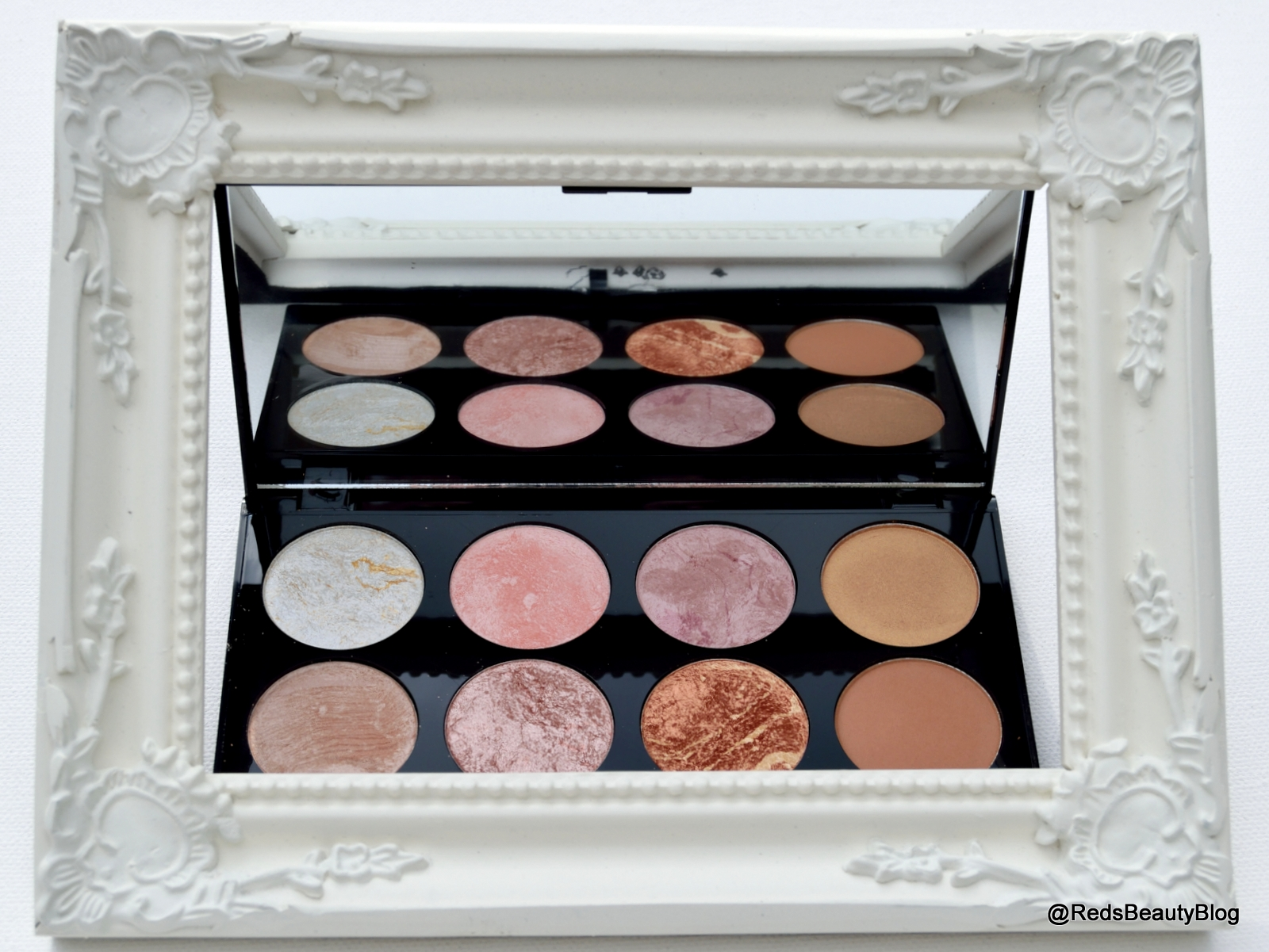 a picture of Makeup Revolution London Ultra Blush Palette in Golden Sugar