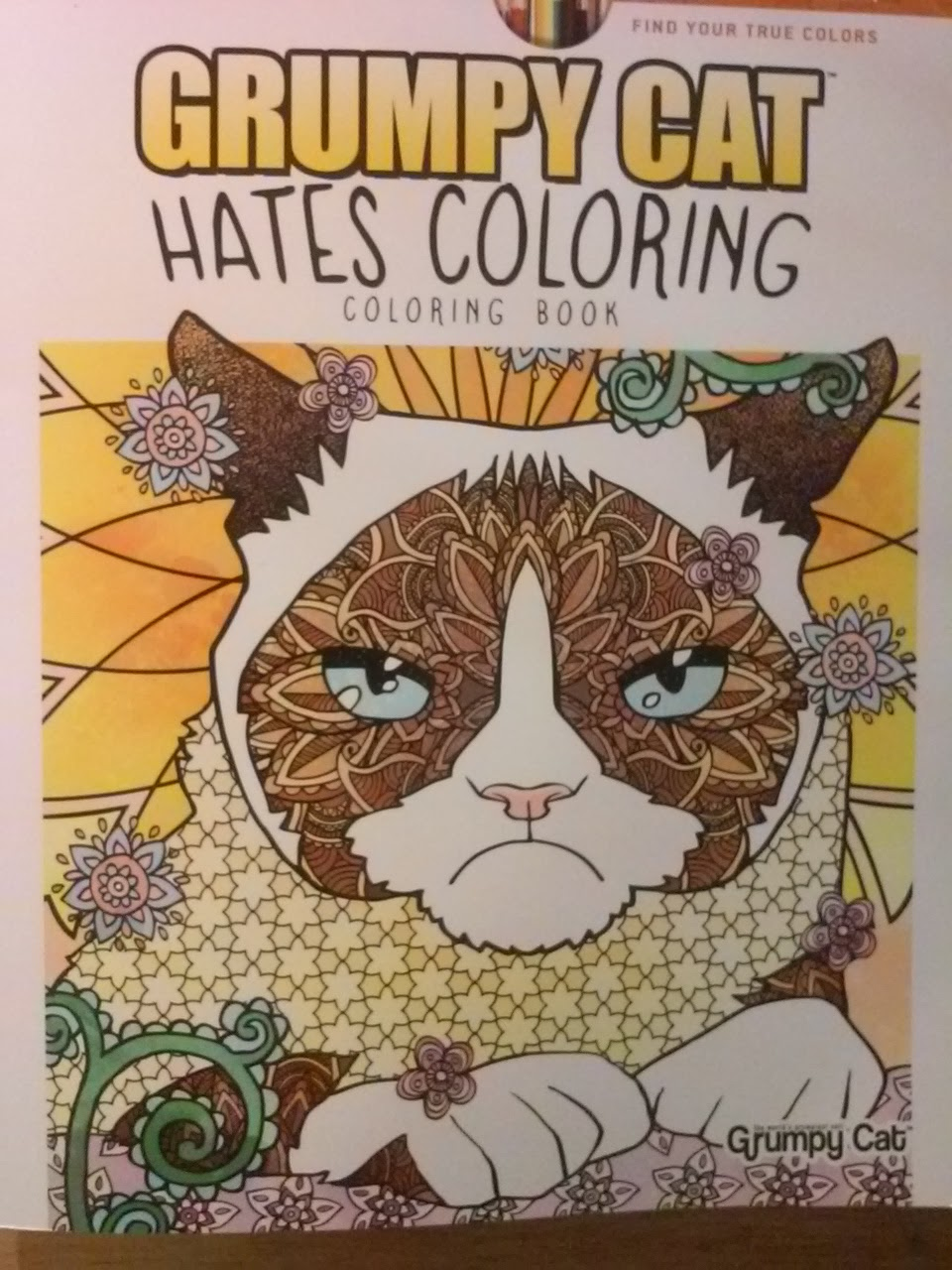 Adult Coloring Book Review Grumpy Cat Hates
