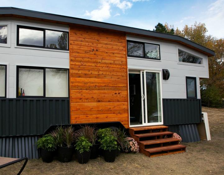 Tiny House Town The Poker Tiny House 300 Sq Ft