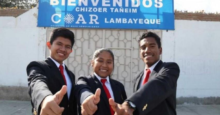 COAR: Alumnos de Lambayeque viajan a Corea del Sur para participar en «XIII Olimpiada Internacional de Normalización»