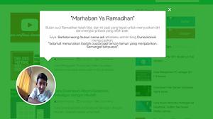 Cara Membuat Ucapan Marhaban Ya Ramadhan Dengan CSS Animation
