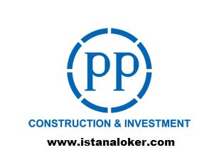 Rekrutmen Pegawai Tetap PT PP (Persero) Tbk Management Trainee 2017