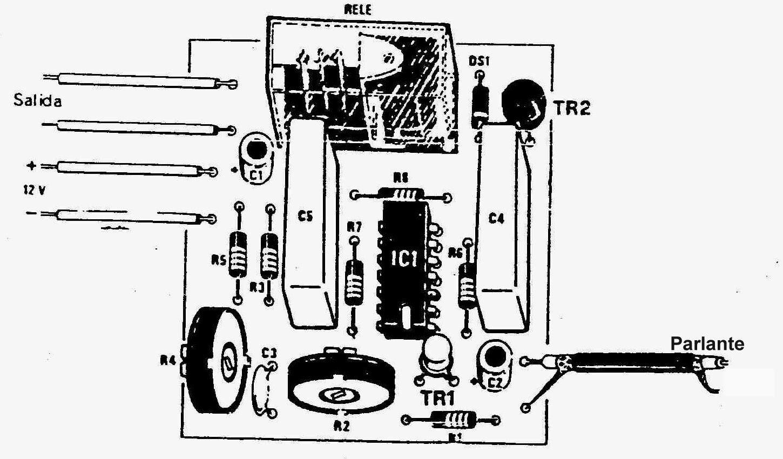 Electronica Proyectos Circuito Interruptor Activado Por