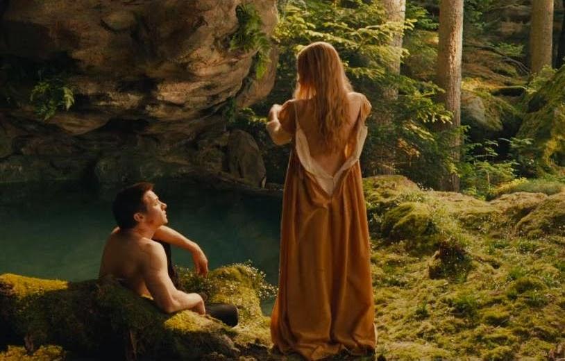 Hansel and gretel nude pool scene — 1