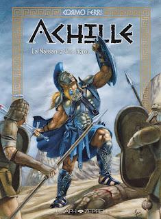 Achille tome 1 - La naissance d'un héros aux éditions Graph Zeppelin