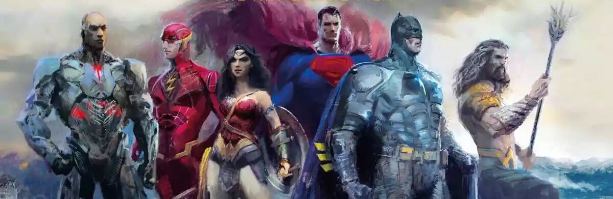 Superman Stands With The Justice League In New Cover Art Visual.