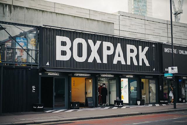 ボックスパーク・ショーディッチ(BOXPARK Shoreditch)
