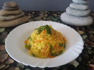 receta de cuscus CON VERDURA marroqui