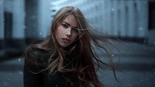 Georgy Chernyadyev imwarrior 500px fotografia mulheres modelos sensuais beleza russa cabelos esvoaçantes vento