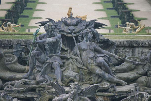 Neptune, Poséidon, dieu, mythologie, Versailles, Atlantide.