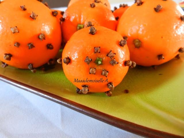 || Activité/DIY : Pommes d'ambre, pour une maison aux parfums de Noël