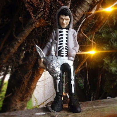 Donnie Darko x adidas Resin Figure by WheresChappell