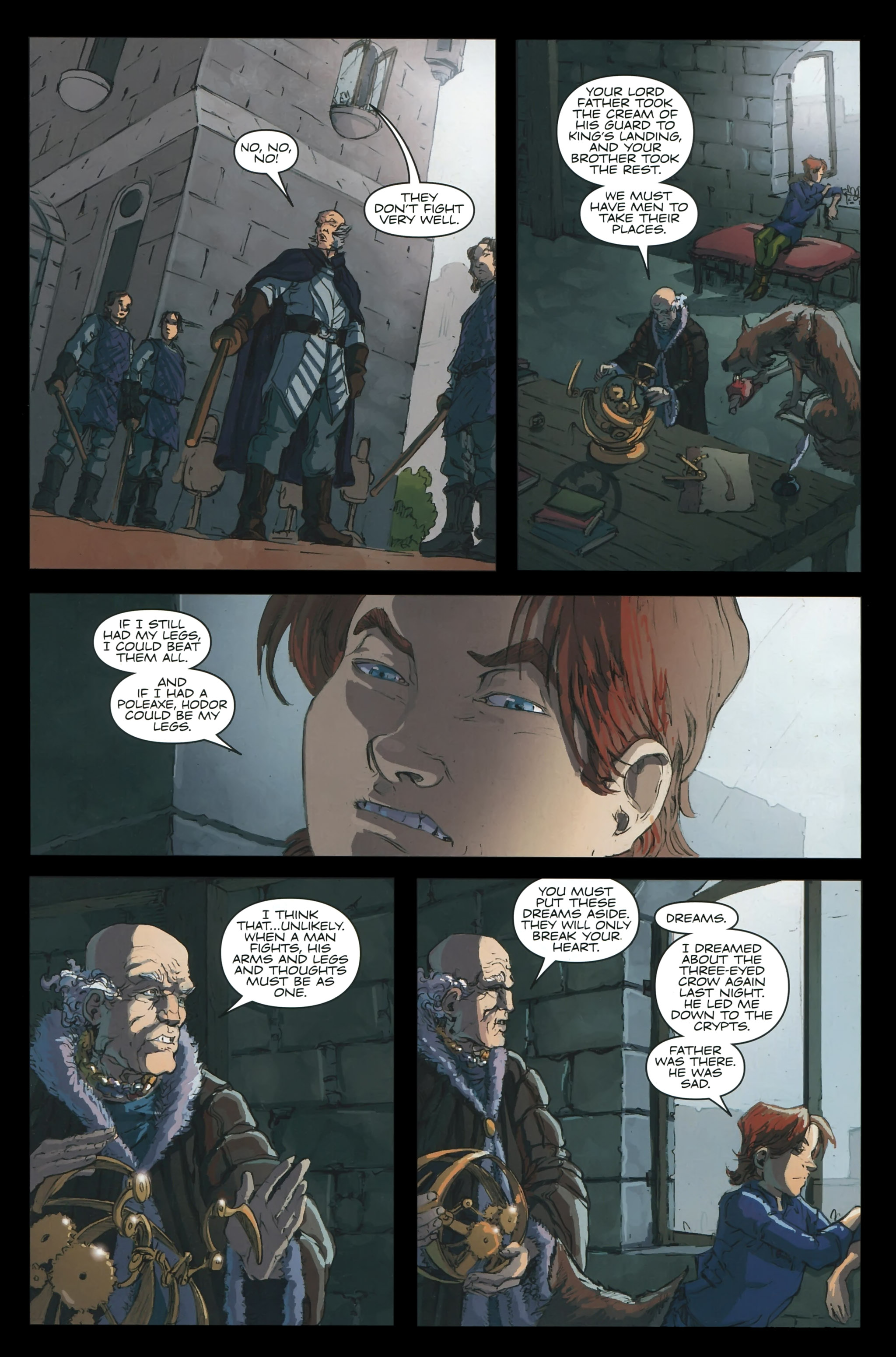 Read online A Game Of Thrones comic -  Issue #23 - 3