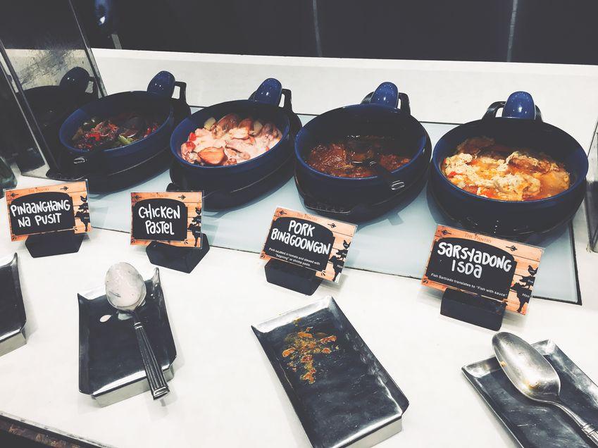 Filipino food at Dusit Thani Manila's The Pantry