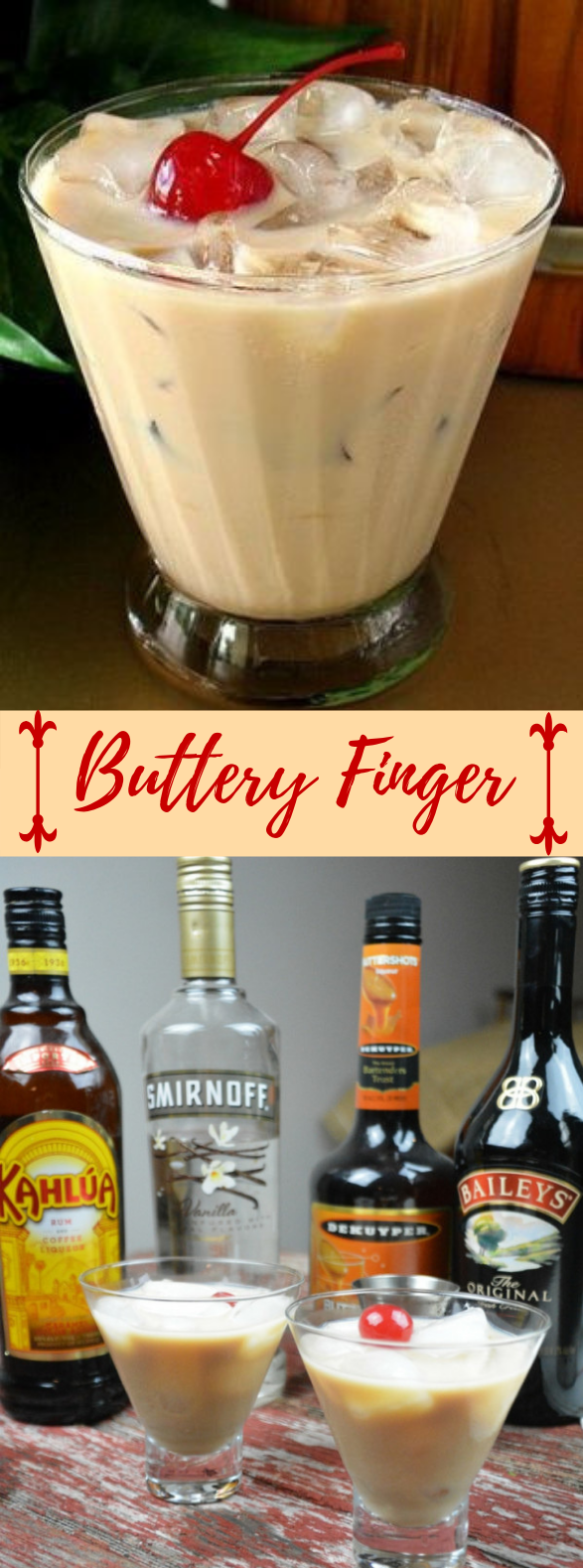 BUTTERY FINGER #vodka #deliciousrecipes