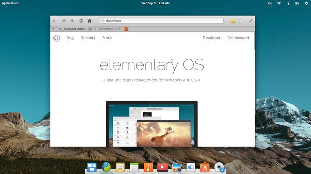 أكثر توزيعات لينكس جمالا  elementary OS