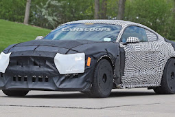 Shelby Mustang GT500, Spotted In Prototype Form 2018