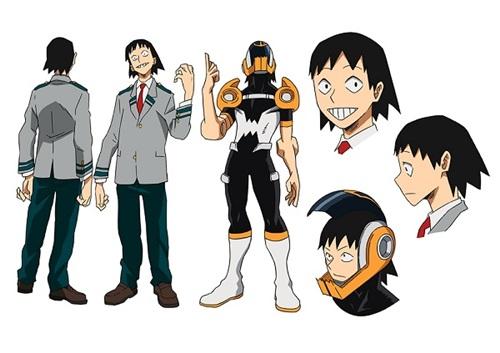 เซโระ ฮันตะ (Sero Hanta) @ My Hero Academia: Boku no Hero Academia มายฮีโร่ อคาเดเมีย