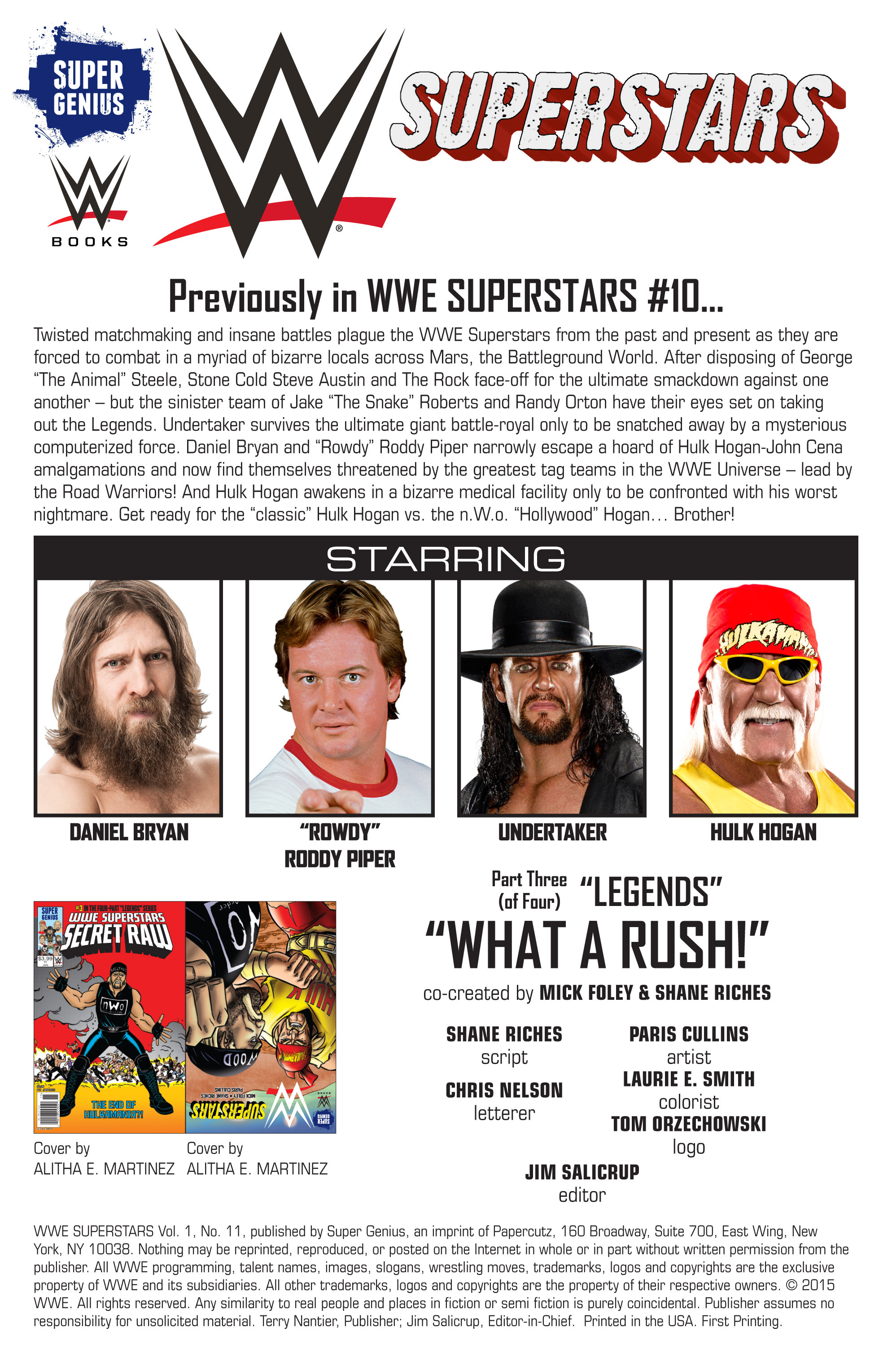Read online WWE Superstars comic -  Issue #11 - 3