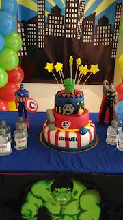 Fiesta superheroes bogota