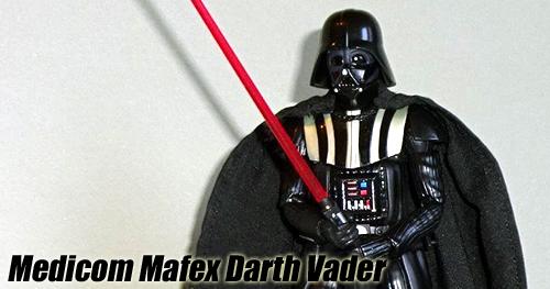 Medicom Mafex - Star Wars Darth Vader figura bemutató