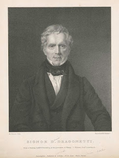 Domenico Dragonetti: a lithograph from the New York City Public Library collection