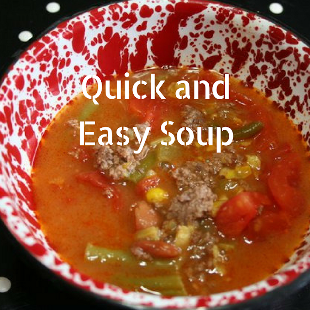 Recipe For Quick and Easy Vegetable Beef Sop