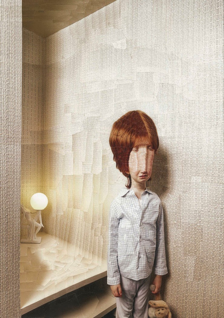 ©Lola Dupre (& Lisa Carletta) - The Second After. Photography | Collage