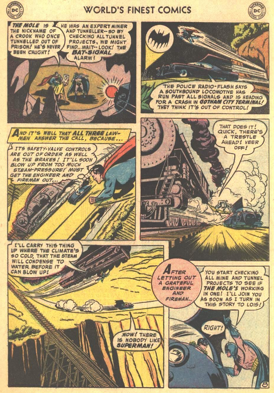 Read online World's Finest Comics comic -  Issue #80 - 10