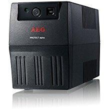 AEG Protect alpha 800 800VA 4AC outlet(s) Negro sistema de alimentación ininterrumpida (UPS) - Fuente de alimentación continua (UPS) (800 VA, 480 W, 170 V, 280 V, 230 V, 50/60)