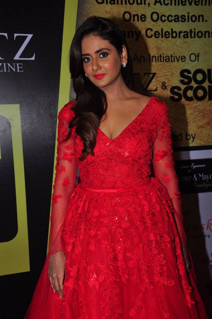 Parul Yadav In Red Dress At South Scope Lifestyle Awards