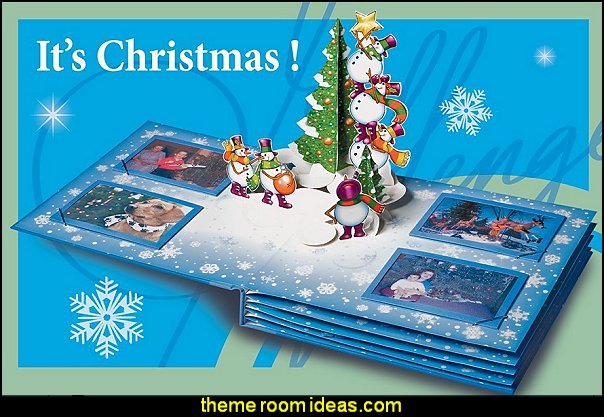 Popup Christmas Album Popup Christmas Album  Christmas decorating ideas - Christmas decor - Christmas decorations - Christmas kitchen decor - santa belly pillows - Santa Suit Duvet covers - Christmas bedding - Christmas pillows - Christmas  bedroom decor  - winter decorating ideas - winter wonderland decorating - Christmas Stockings Holiday decor Santa Claus - decorating for Christmas - 3d Christmas cards