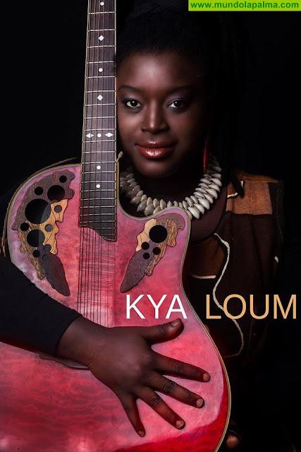 La cantante senegalesa Kya Loum estará presente en la Noche de Las Estrellas